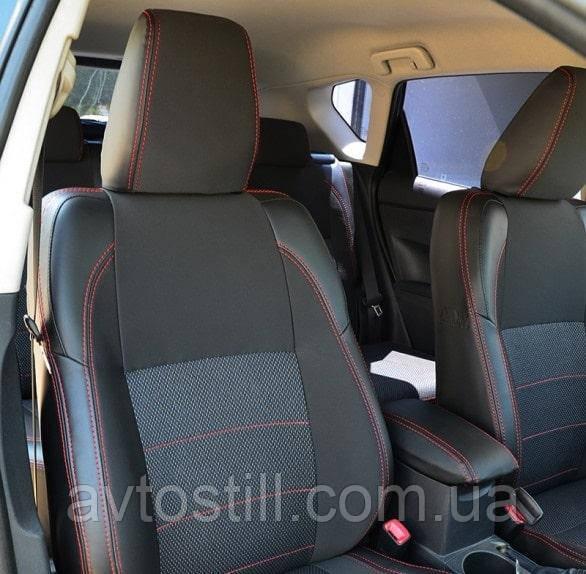 Чехлы на сидения автомобиля Toyota Auris 2 (2012-..)