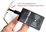 Беспроводная зарядка встраиваемая, приемник плата, мини USB с катушкой QI для телефона планшета павербанка, фото 2