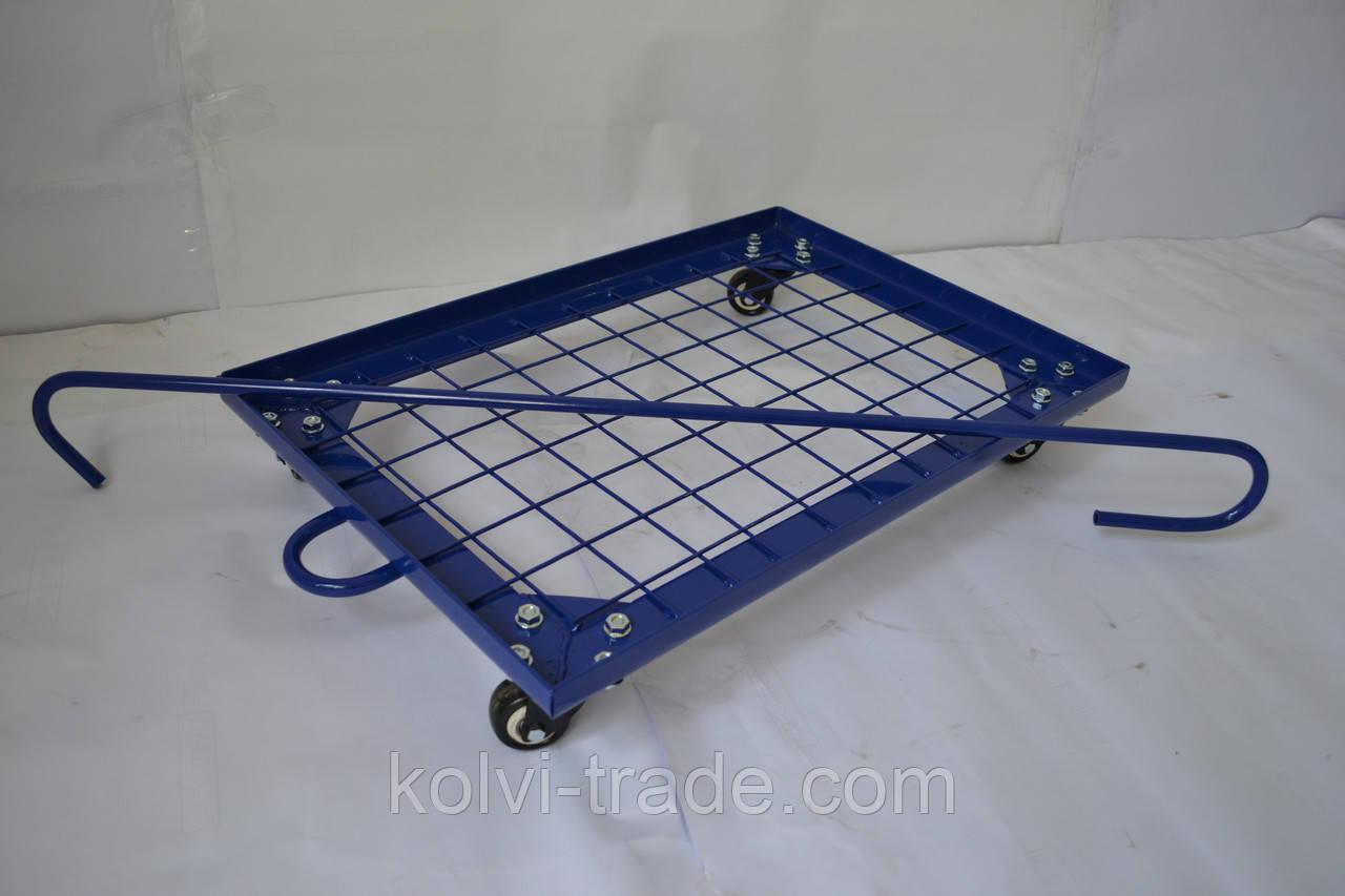 Изготовление под заказ платформенная тележка Kolvi ТПC 400*600