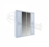 Шкаф Луиза 4Д с зеркалом Миро-Марк