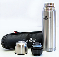 "Термос вакуумный металлический + чехол 500 мл. ""Stenson"" МТ-0179"