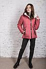 Зимняя куртка на овчине для женщин модель 2019 - (модель кт-389), фото 5