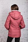 Зимняя куртка на овчине для женщин модель 2019 - (модель кт-389), фото 7