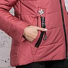 Зимняя куртка на овчине для женщин модель 2019 - (модель кт-389), фото 8