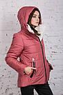 Зимняя куртка на овчине для женщин модель 2019 - (модель кт-389), фото 9