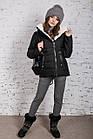 Зимняя куртка на овчине для женщин модель 2019 - (модель кт-389), фото 2
