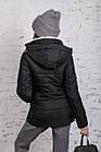 Зимняя куртка на овчине для женщин модель 2019 - (модель кт-389), фото 3