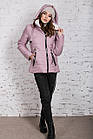 Зимняя куртка на овчине для женщин модель 2019 - (модель кт-389), фото 10
