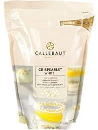 Жемчужины Callebaut Сriaspearls White