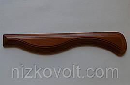 Накладка на крісло з дерева (підлокітник) 300х80х18 мм