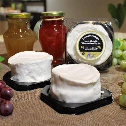Сыр с белой плесенью и трюфелем Brillat-Savarin Delin, фото 2