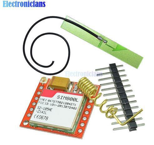 GSM GPRS модуль SIM800L с антеной