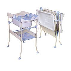 Пеленальная стойка с ванной Ceba Baby
