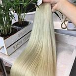 Трессы на заколках 50 см. Цвет #Блонд, фото 5