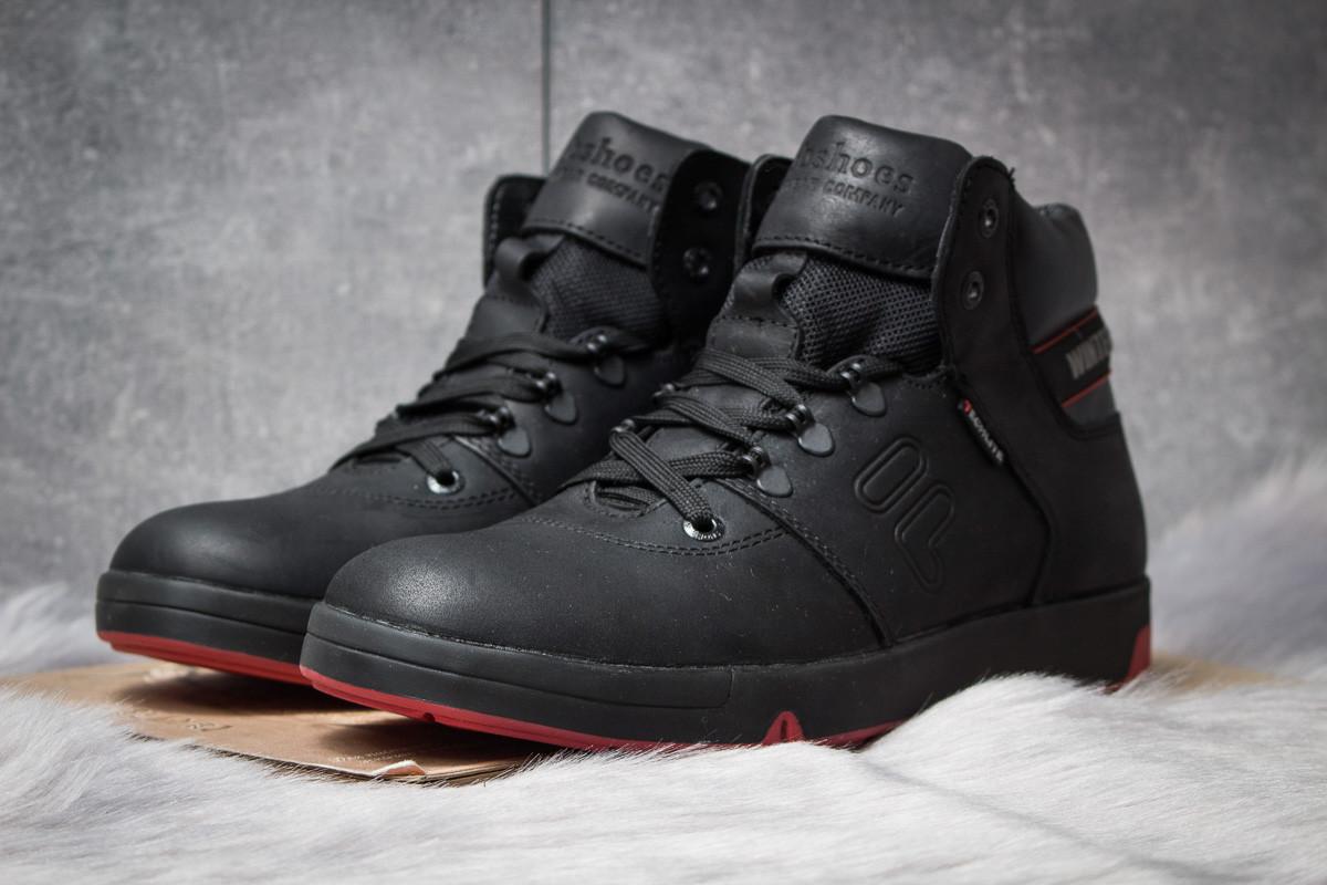 Зимние ботинки  на меху Clubshoes Sportwear, черные (30611) размеры в