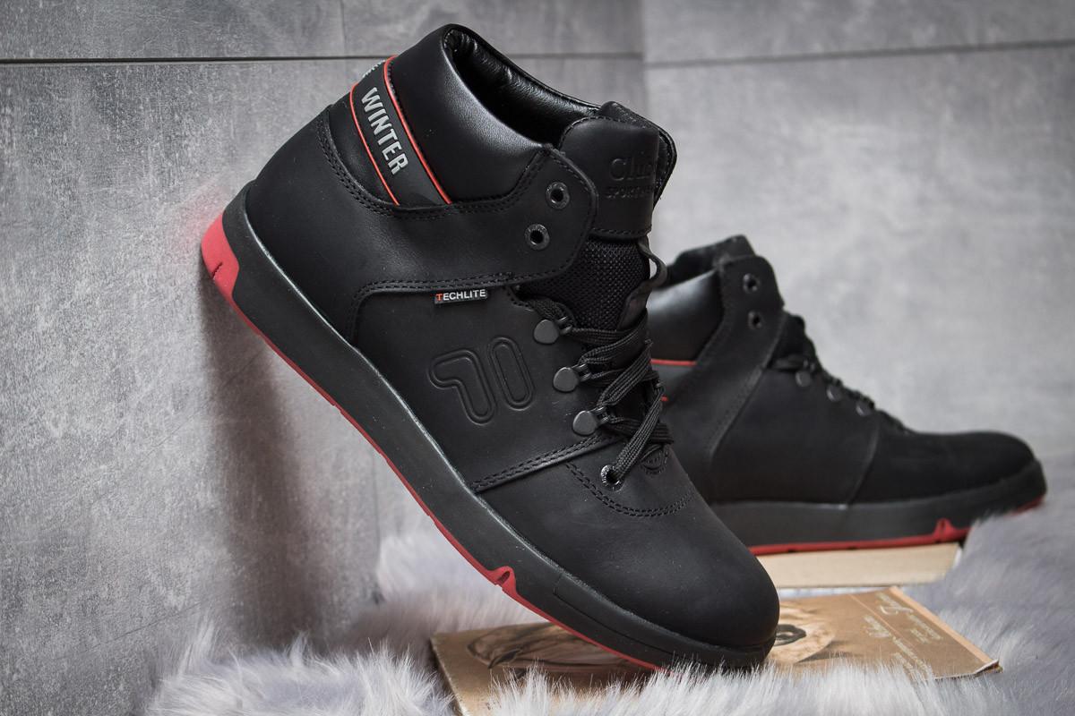 Зимние ботинки  на меху Clubshoes Sportwear, черные (30611) размеры в  5