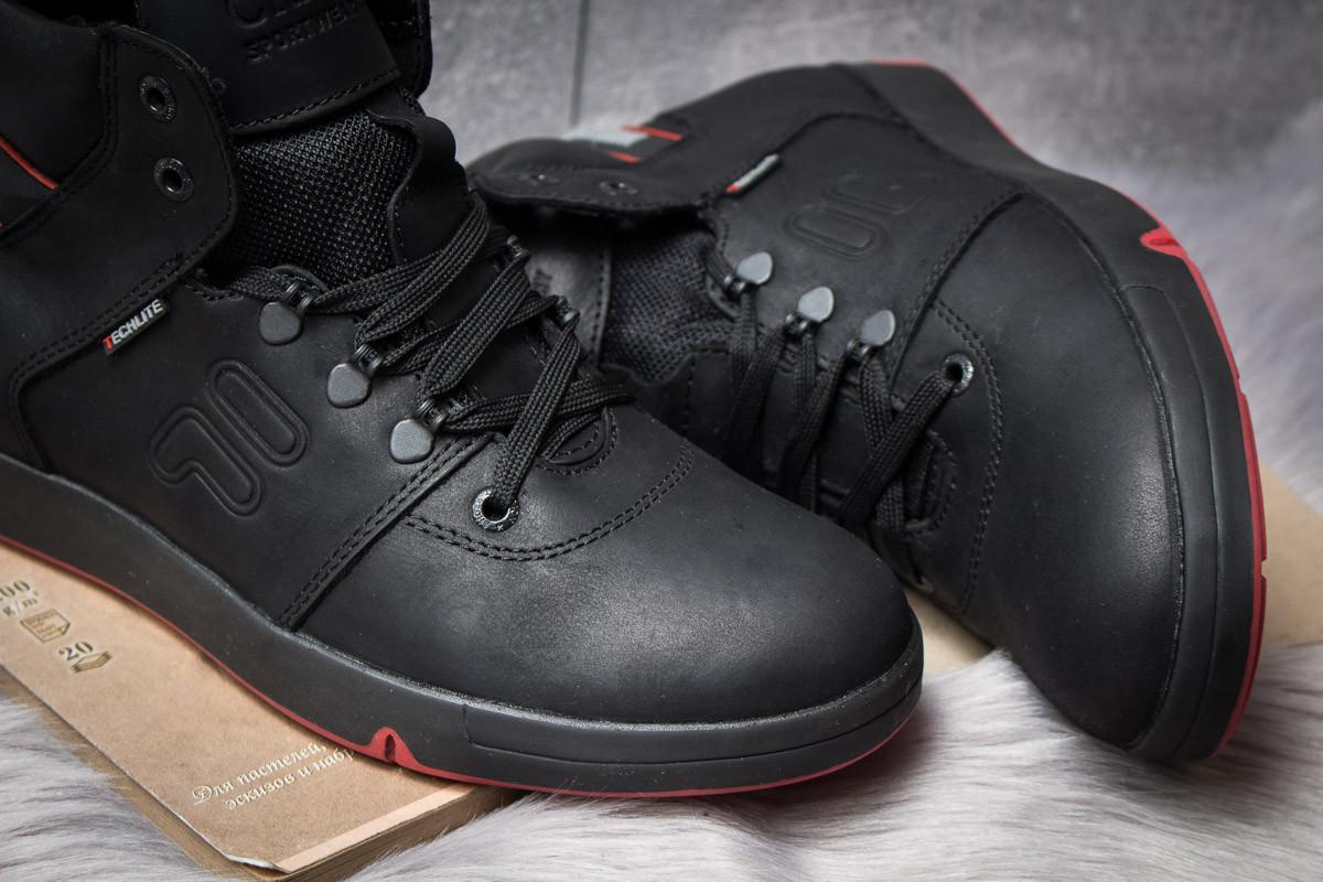 Зимние ботинки  на меху Clubshoes Sportwear, черные (30611) размеры в  6