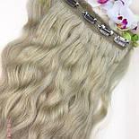 Трессы на заколках 50 см. Цвет #Блонд, фото 9