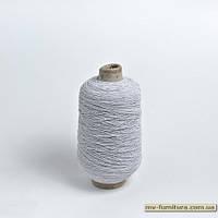 Нитка резинка бел (400гр)
