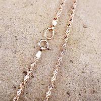 Золотая цепочка плетение Сингапур ц00102