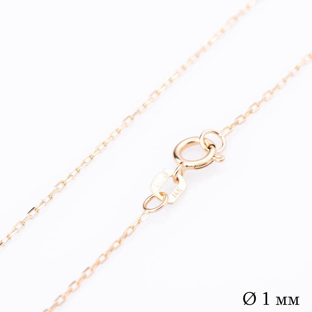 Золотая цепочка Якорное плетение (1 мм) гц00197-1
