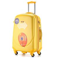 Ударопрочный большой чемодан Ambassador Classic A8503 Жёлтый
