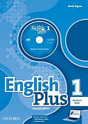 English Plus Second Edition 1 Teacher's Book with Teacher's Resource Disk + Practice Kit ISBN: 9780194202183