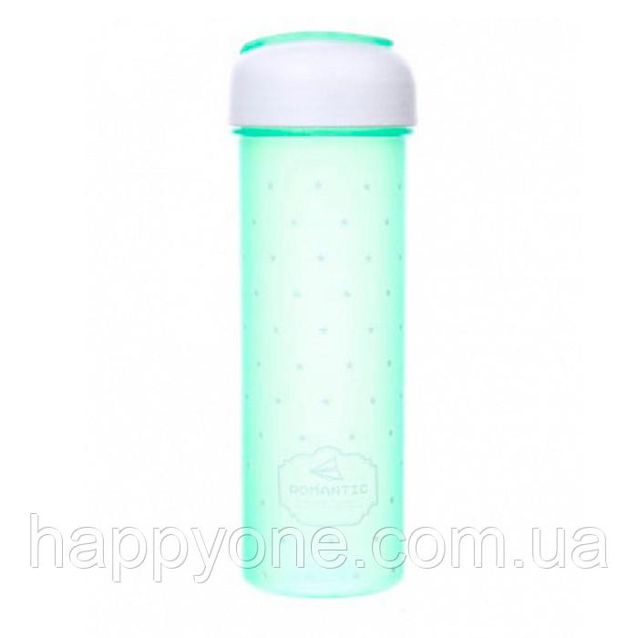 Бутылка для воды и напитков (700 мл) зеленая