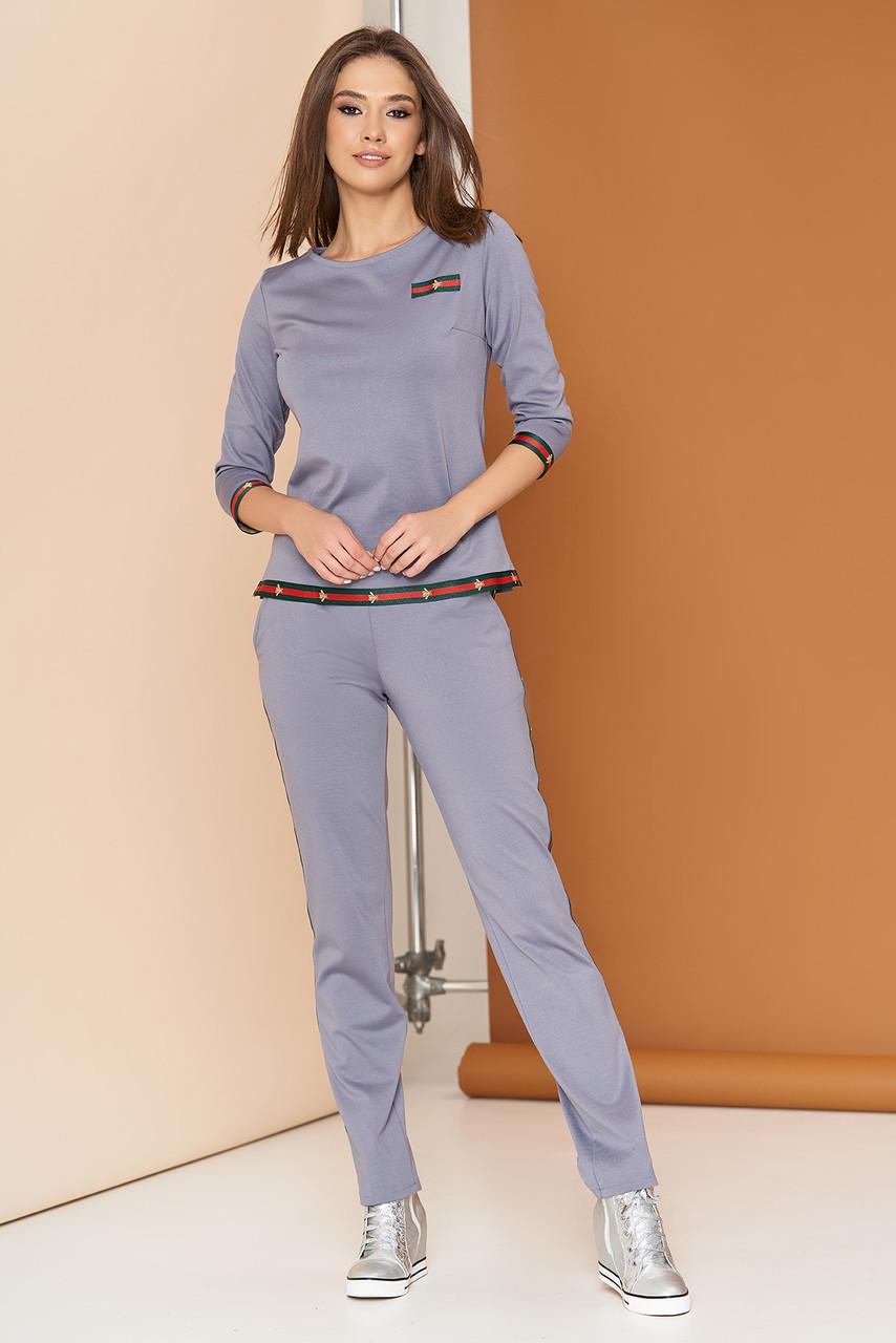 9328081d4aaf Спортивный серый костюм А-101 ТМ Arizzo 44-54 размеры - купить по ...