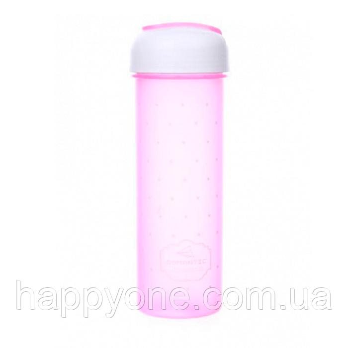 Бутылка для воды и напитков (700 мл) розовая