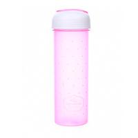Бутылка для воды и напитков (700 мл) розовая, фото 1
