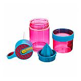 Детская бутылочка для напитков KidZinger (фиолетовая), фото 2