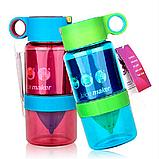 Детская бутылочка для напитков KidZinger (фиолетовая), фото 5