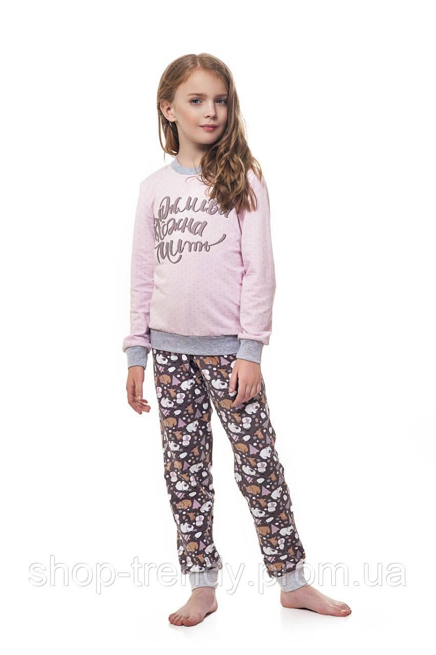 Пижама для девочек (Кофта и штаны) Ellen