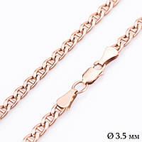 Золотая цепочка плетение Барли (3.5 мм) ц00055-3.5