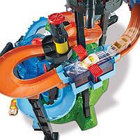 "Трек Хот Вилс серии измени цвет ""Водонапорная Башня"" / Hot Wheels City Ultimate Gator Car Wash, фото 4"