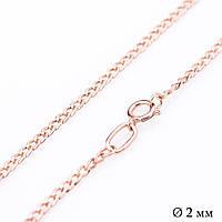 Золотая цепочка (панцирное плетение 2 мм) ц00039-2