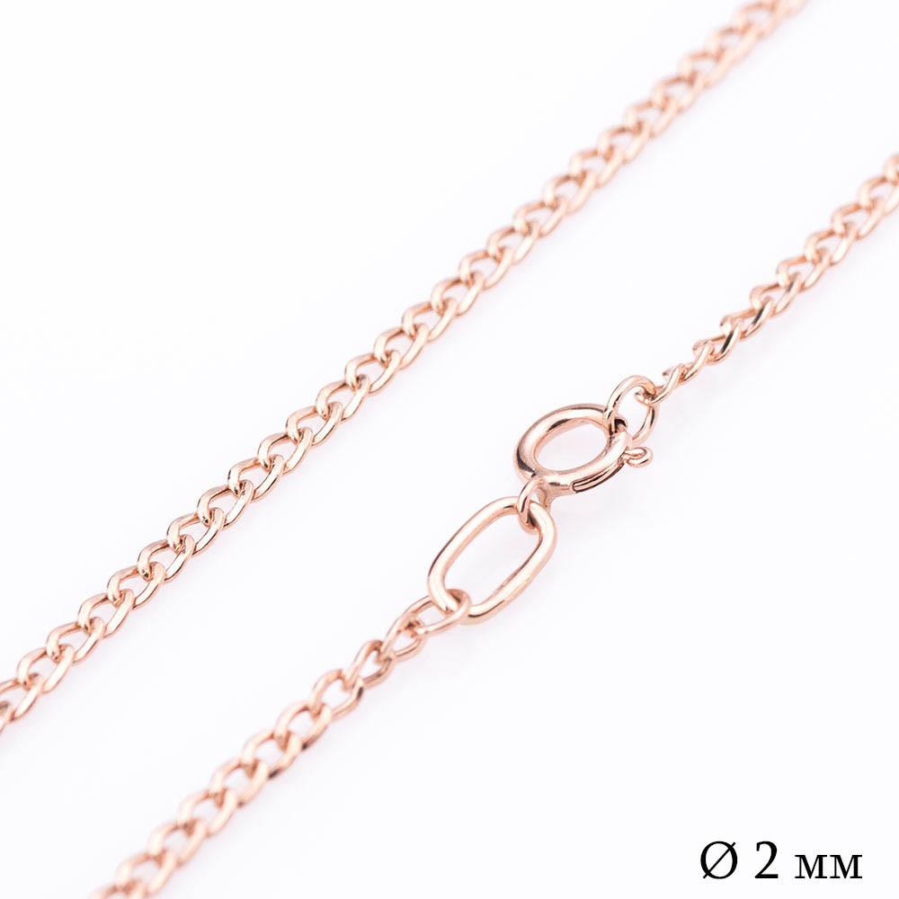 Золотая цепочка (панцирное плетение 2 мм) гц00039-2
