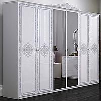 Шкаф Луиза 6Д с зеркалом Миро-Марк