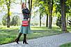 Кожаная сумочка женская 05 красный кайман 01050207, фото 4