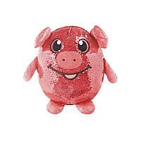 Мягкая игрушка с пайетками ВЕСЕЛАЯ СВИНКА Shimmeez SMZ01020