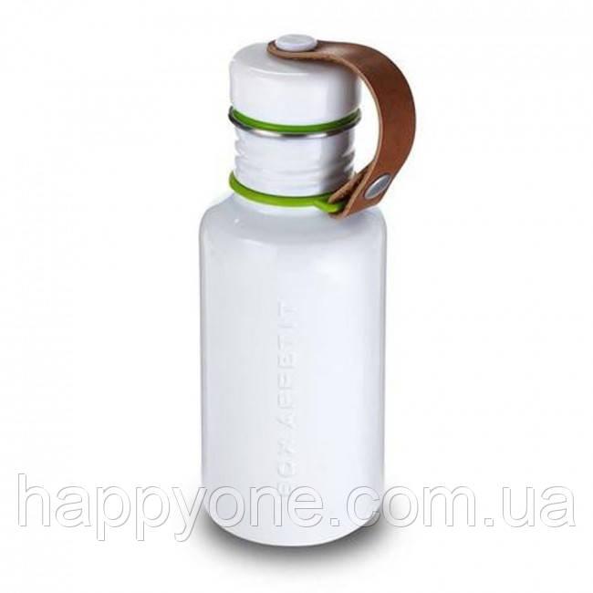 Бутылка стальная Black+Blum (белая)