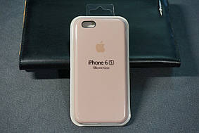 Чехол для Apple Silicone Case (19) iPhone 6/6s Pink Sand