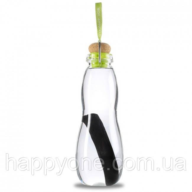 Стеклянная эко бутылка Eau Good Black+Blum (650 мл) зеленая