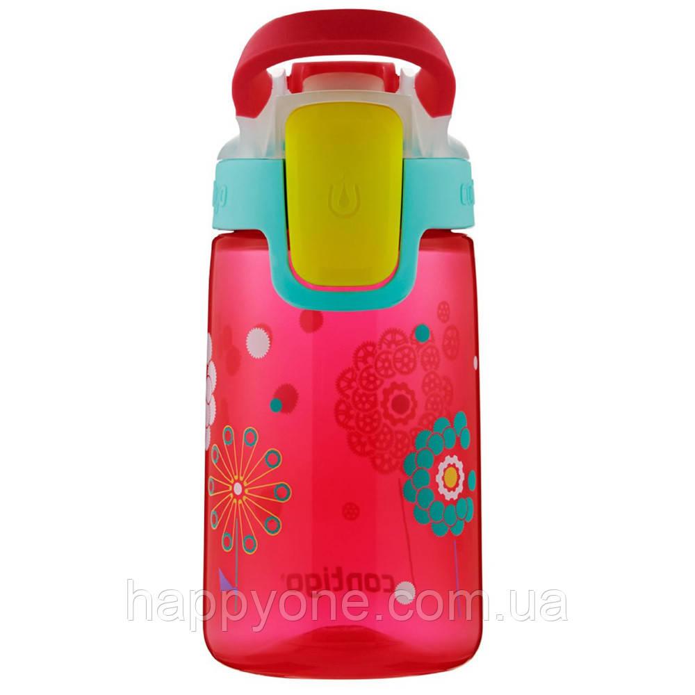 Детская бутылка для воды Contigo Gizmo Sip Cherry Blossom Dandelions Graphic (420 мл)