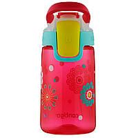 Детская бутылка для воды Contigo Gizmo Sip Cherry Blossom Dandelions Graphic (420 мл), фото 1