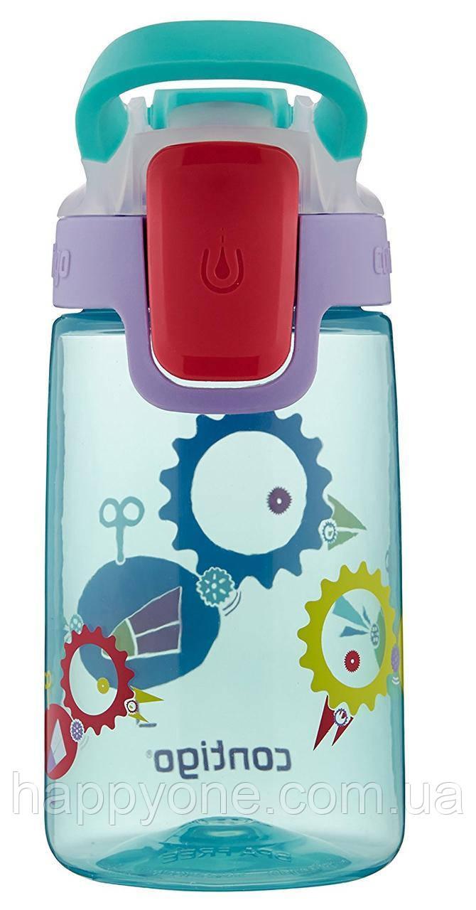 Детская бутылка для воды Contigo Gizmo Sip Ultramarine Wind Up Bird (420 мл)