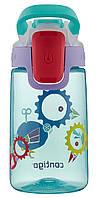 Детская бутылка для воды Contigo Gizmo Sip Ultramarine Wind Up Bird (420 мл), фото 1