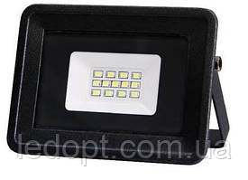 Светодиодный прожектор 10W  LED SMD Black