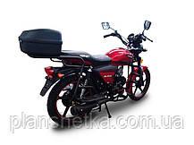 Мотоцикл Hornet Alpha 125 куб.см, красный, фото 3